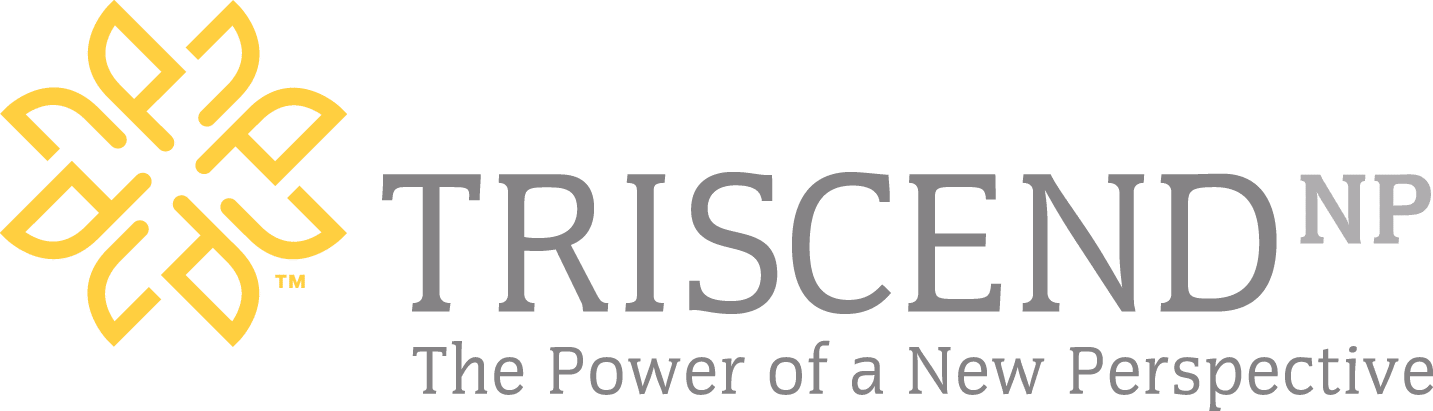 TriscendNP The Power of a New Perspective logo