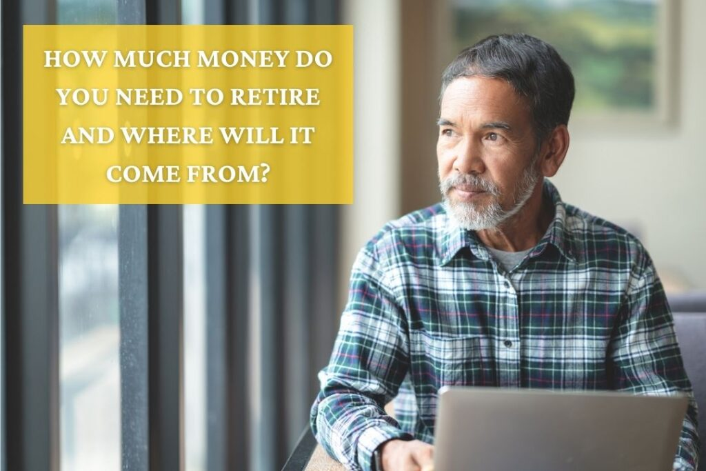 How Much Money Do You Need To Retire and Where Will It Come From?