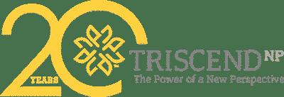 TriscendNP 20th Anniversary logo